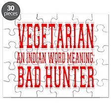 Vegetarian Puzzle