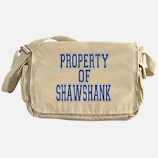 Property of Shawshank Messenger Bag