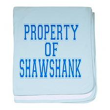 Property of Shawshank baby blanket