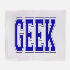 Geek Throw Blanket