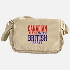 Canadian Made With British Pa Messenger Bag