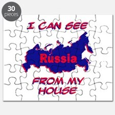 I Can See Russia From My Hous Puzzle