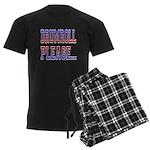 Drumroll Please Men's Dark Pajamas