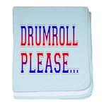 Drumroll Please baby blanket