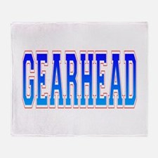 Gearhead Throw Blanket