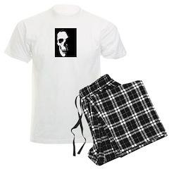 Black and White Skull Pajamas