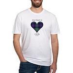 Heart - Clerke of Ulva Fitted T-Shirt