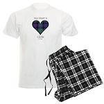 Heart - Clerke of Ulva Men's Light Pajamas