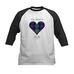 Heart - Clerke of Ulva Kids Baseball Jersey