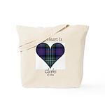 Heart - Clerke of Ulva Tote Bag