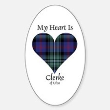 Heart - Clerke of Ulva Decal