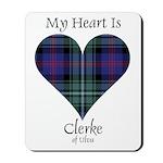 Heart - Clerke of Ulva Mousepad