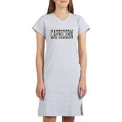 Capricorn Women's Nightshirt