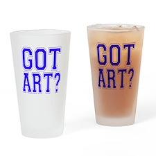 Got Art? Drinking Glass