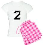 Varsity Font Number 2 Women's Light Pajamas