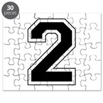 Varsity Font Number 2 Puzzle