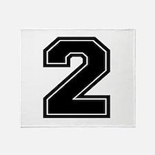 2 Throw Blanket
