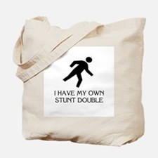My own stunt double Tote Bag