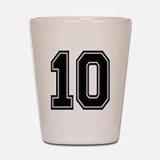 10 Shot Glass