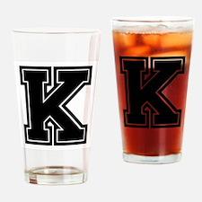 K Drinking Glass