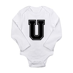 U Long Sleeve Infant Bodysuit