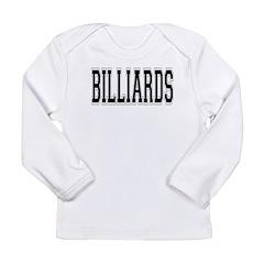 Billiards Long Sleeve Infant T-Shirt