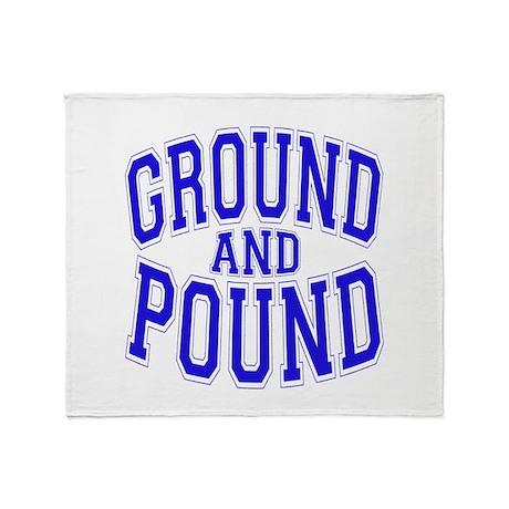 Ground and Pound Throw Blanket