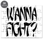 Wanna Fight? Puzzle