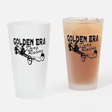 Slingshot Dragster Nostalgia Drinking Glass