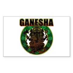 Ganesha5 Sticker (Rectangle 50 pk)