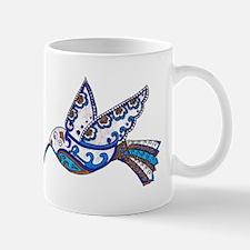 Hummingbird-Slate and Blue Mug