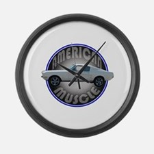 Ford Mustang American Muscle Large Wall Clock