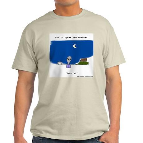 Speak New Mexican, Lesson 2 Ash Grey T-Shirt