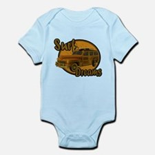 Surf Dreams Woodie Wagon Infant Bodysuit