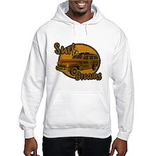 Surf Dreams Woodie Wagon Hoodie