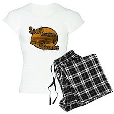 Surf Dreams Woodie Wagon Pajamas