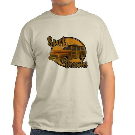 Surf Dreams Woodie Wagon Light T-Shirt