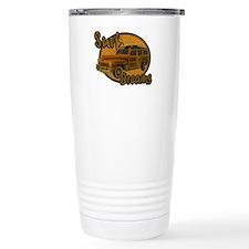 Surf Dreams Woodie Wagon Travel Mug