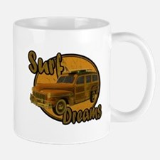Surf Dreams Woodie Wagon Mug