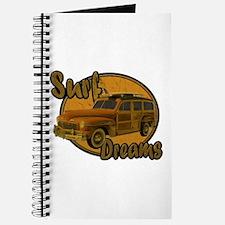 Surf Dreams Woodie Wagon Journal