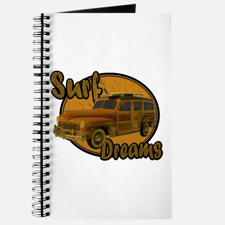 Surf Dreams Woodie Wagon Journal