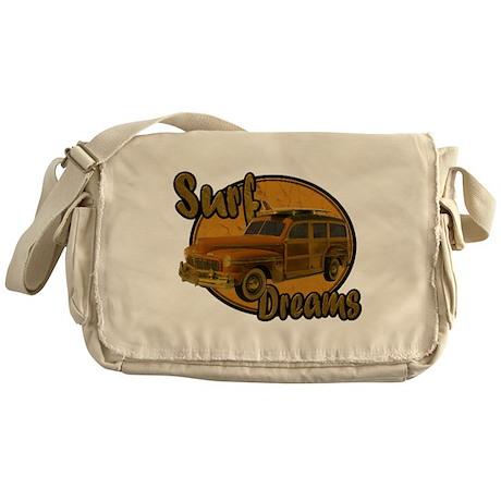 Surf Dreams Woodie Wagon Messenger Bag