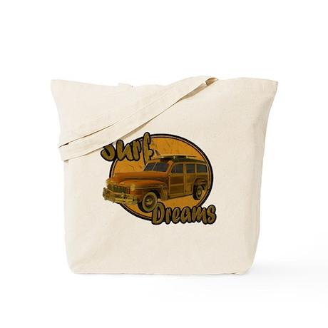 Surf Dreams Woodie Wagon Tote Bag