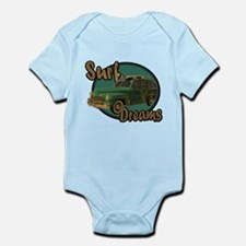 California Surf Dreams Woody Infant Bodysuit