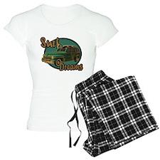California Surf Dreams Woody Pajamas