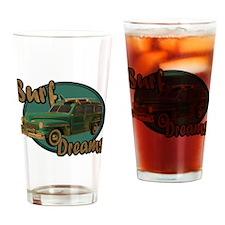 California Surf Dreams Woody Drinking Glass