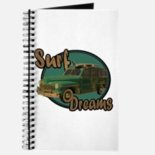 California Surf Dreams Woody Journal