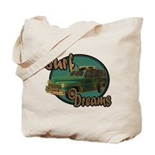 California Surf Dreams Woody Tote Bag