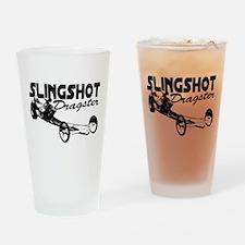 slingshot dragster Drinking Glass