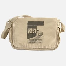 Near Side: A Draft in Here Messenger Bag